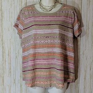 Sonoma short sleeve top size XL